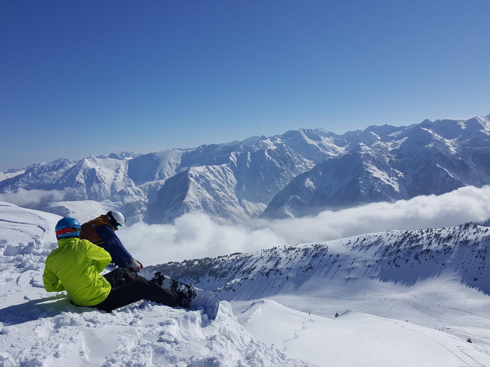 station de ski pyr u00e9n u00e9es ax 3 domaines